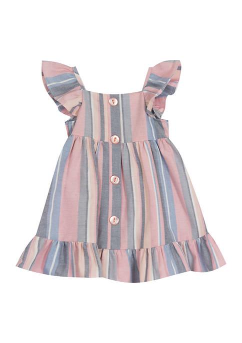 Baby Girls Striped Dress
