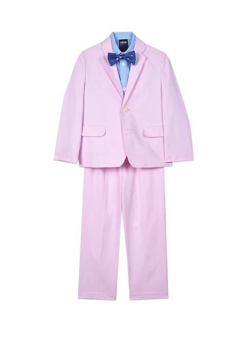 Toddler Boys Oxford Suit Set