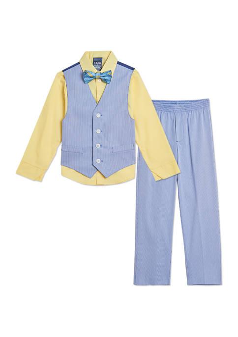 IZOD Toddler Boys Pincord Vest Set