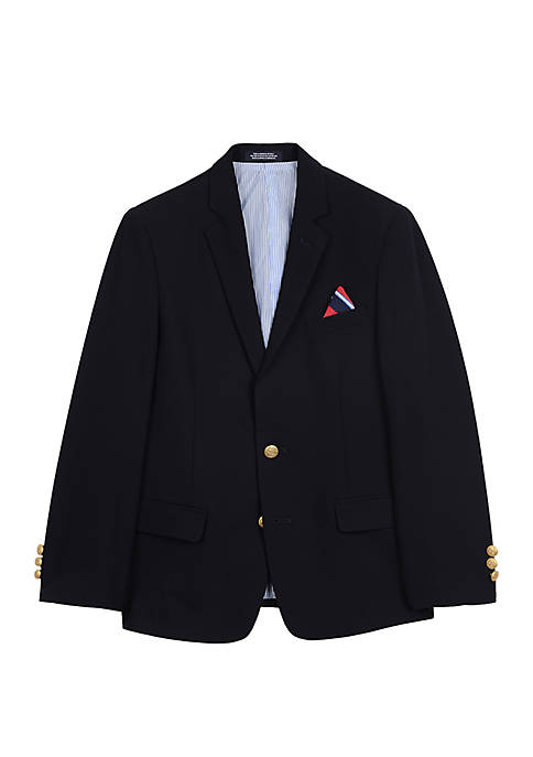 Toddler Boys Navy Blazer