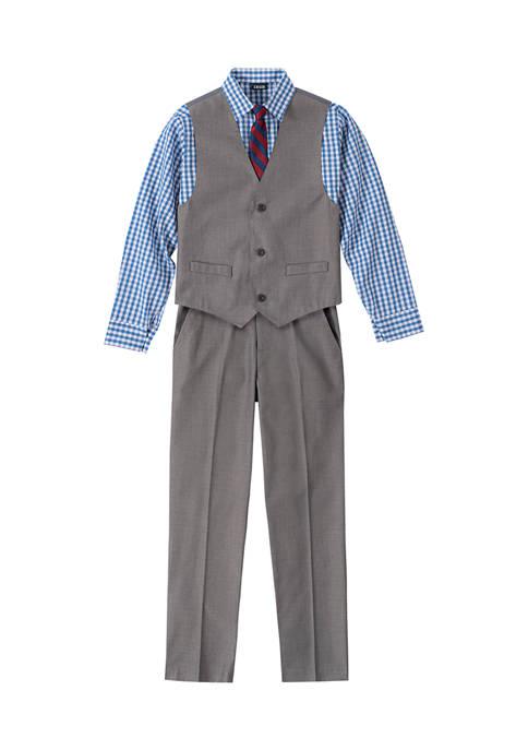 IZOD Toddler Boys Sharkskin Vest Set