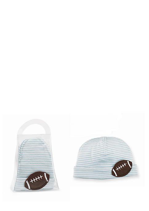 Mud Pie® Felt Football Hat