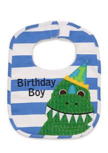 Birthday Dino Bib