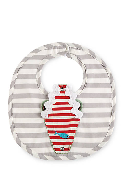 Mud Pie® Gator Open Mouth Bib