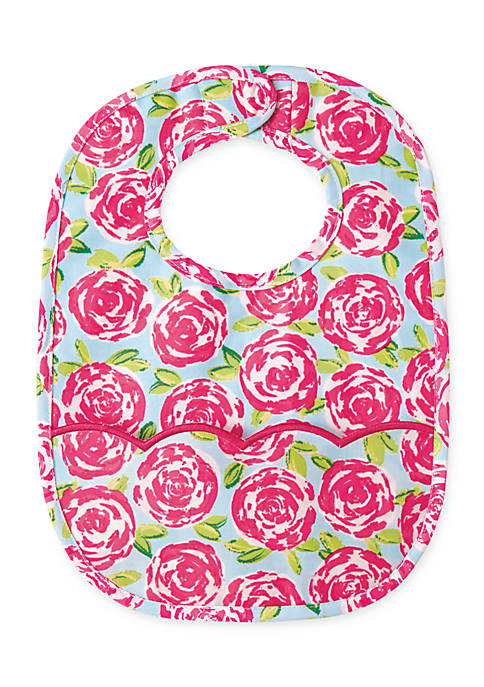 Mud Pie® Floral Laminated Bib