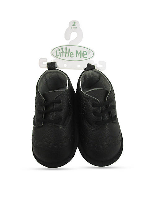 Little Me Wing Tip Dress Shoes