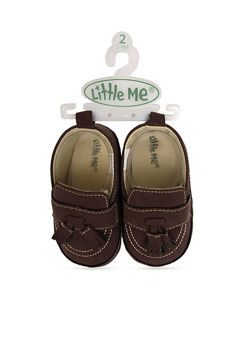 Little Me Faux Suede Loafers