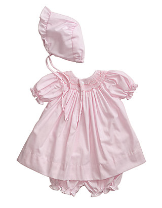 4f9eff3c180 Petit Ami Smocked Gingham Dress