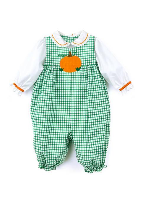 Baby Girls Harvest Pumpkin Bodysuit