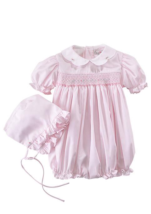 Baby Girls Bubble Romper