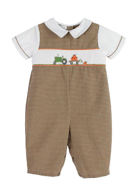 Baby Boys Harvest Overalls