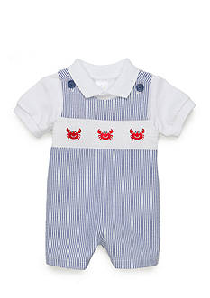 Nursery Rhyme® 2-piece Crab Overall Set