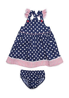 Nursery Rhyme® 2-Piece American Dress and Bloomer Set