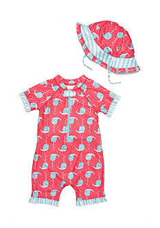Nursery Rhyme® 2-Piece Rashguard and Hat Set
