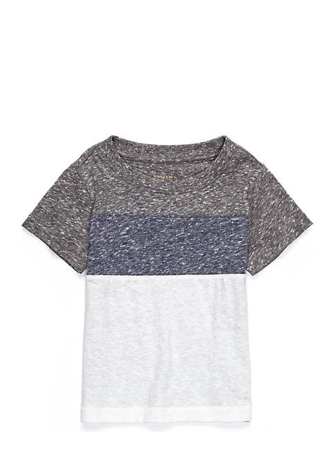 TRUE CRAFT Heathered Colorblock Tee Toddler Boys