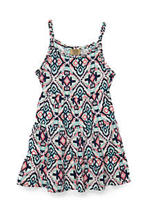 Toddler Girls 4-6x Braided Woven Dress