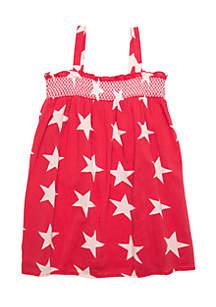 Toddler Girls Smocked Dress