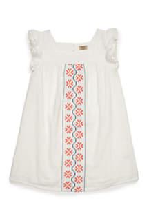 Toddler Girls Peasant Dress