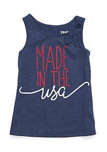USA Tank Infant Girls