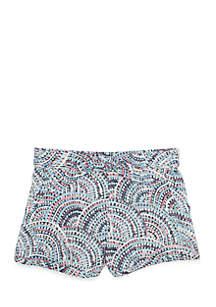 infant Girls Challis Shorts