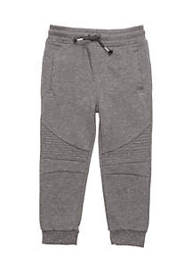 Toddler Boys Quilted Knit Joggers