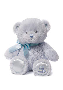 Gund® Blue My First Teddy