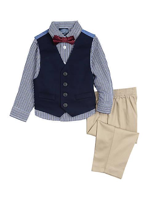 Nautica Toddler Boys Vest Set