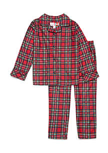 Toddler Girls Traditional Pajama Set