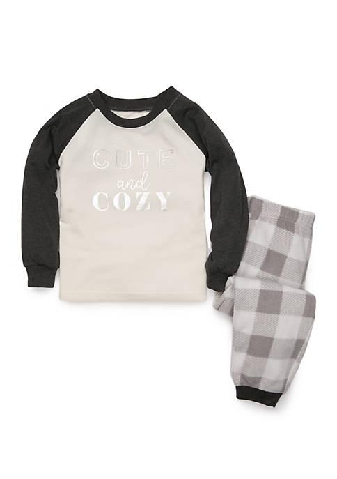 Toddler Ivory Cozy 2 Piece Pajama Set