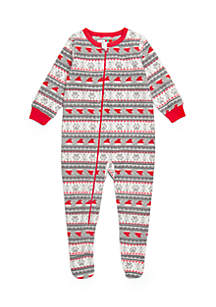 Baby Santa Paws Bodysuit