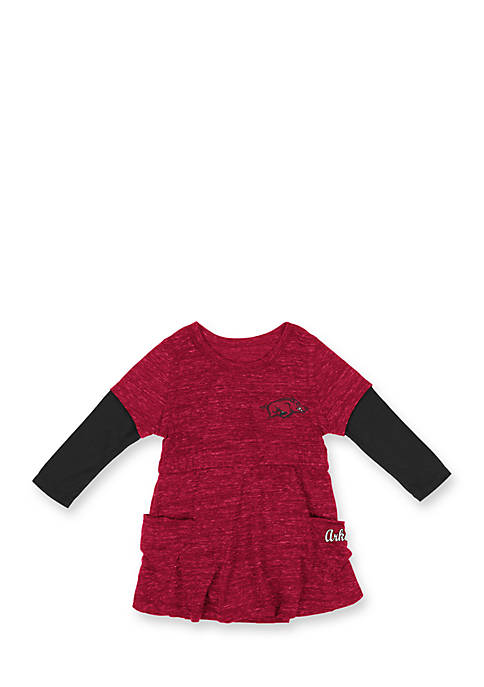Colosseum Athletics ARKANSAS BABY RUTHER 2FER DRESS