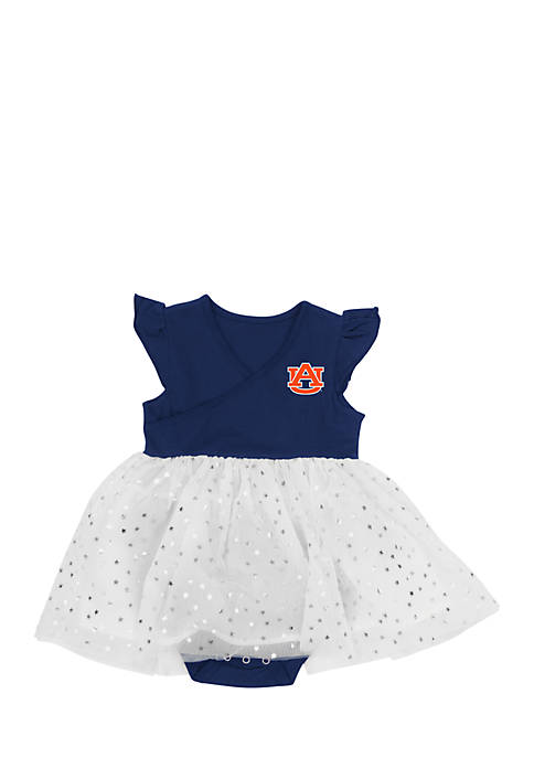Colosseum Athletics Infant Girls Auburn Tigers Tutu One-Piece