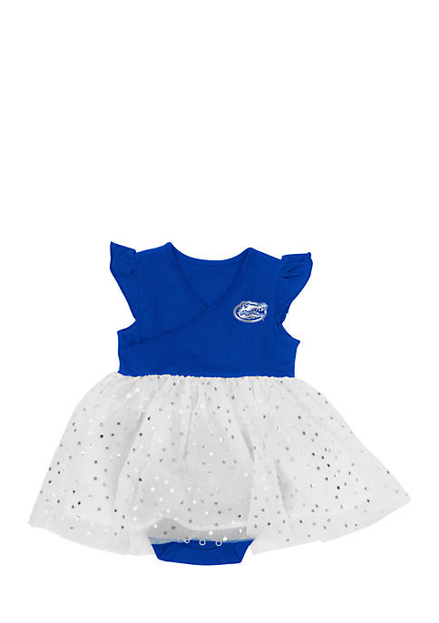 Colosseum Athletics Florida Infant Girls Tutu Onesie Dress