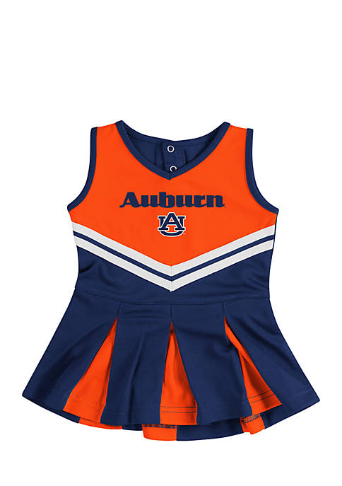 Colosseum Athletics Infant Girls Auburn Pom Pom Cheer