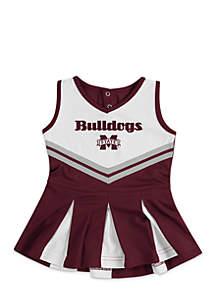 Infant Girls Mississippi State Pom Pom Cheer Set