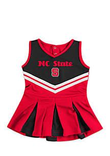 Infant Girls NC State Pom Pom Cheer Set