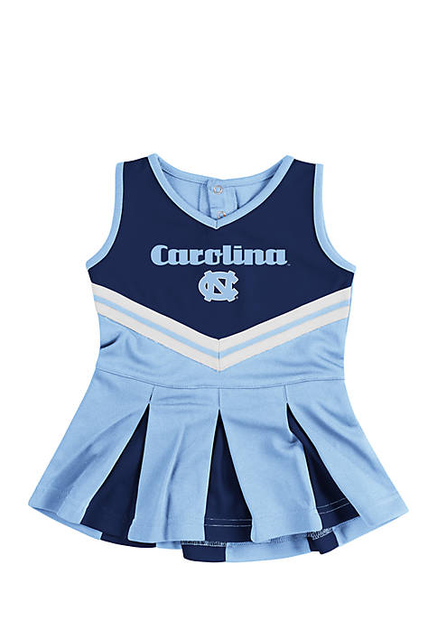 Colosseum Athletics Infant Girls UNC Pom Pom Cheer