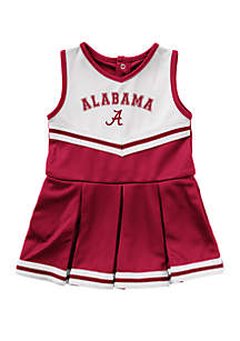 Colosseum Athletics Baby Girls Alabama Crimson Tide Cheer Dress