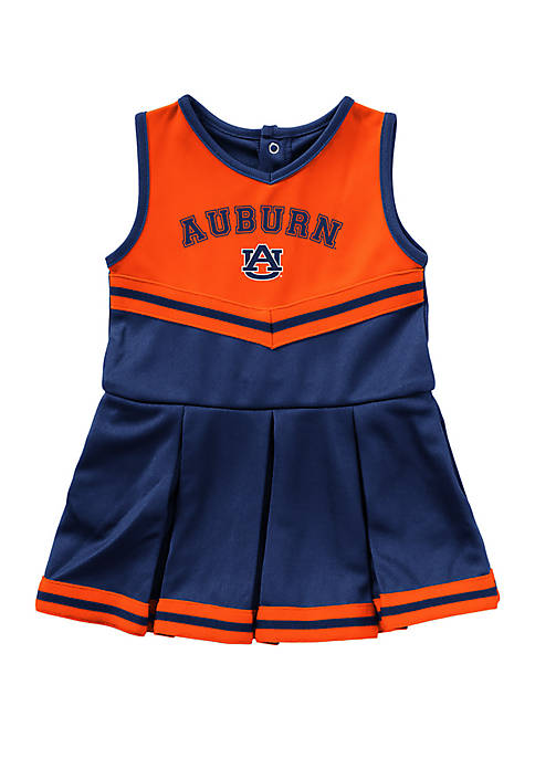 Colosseum Athletics Baby Girls Auburn Tigers Cheer Dress