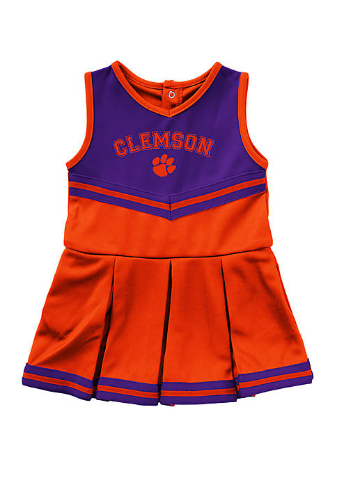Colosseum Athletics Baby Girls Clemson Tigers Cheer Dress