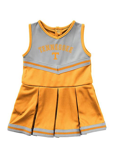 Colosseum Athletics Baby Girls Tennessee Volunteers Cheer Dress