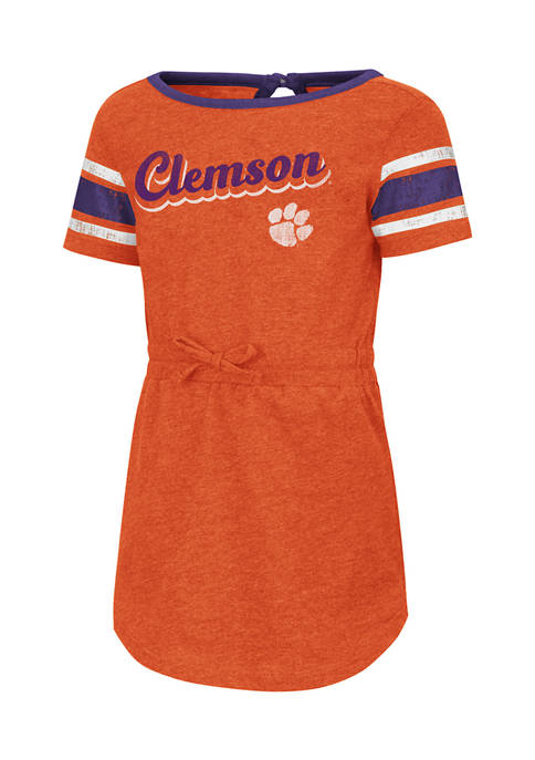 Colosseum Athletics Toddler Girls NCAA Clemson Tigers Pineapple