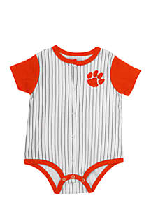 Clemson Infant Boys Sultan Of Swat Baseball Onesie
