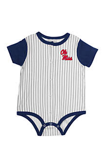 Ole Miss Infant Boys Sultan Of Swat Baseball One-Piece
