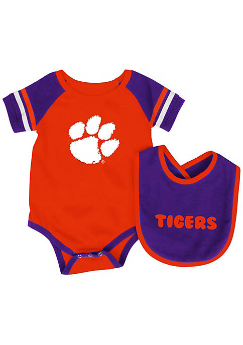 Colosseum Athletics Clemson Tigers Onesie with Bib