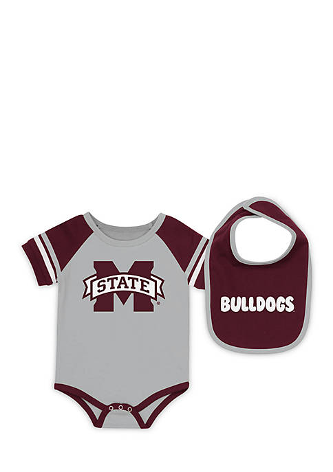 Colosseum Athletics Mississippi State Bulldogs Bodysuit with Bib