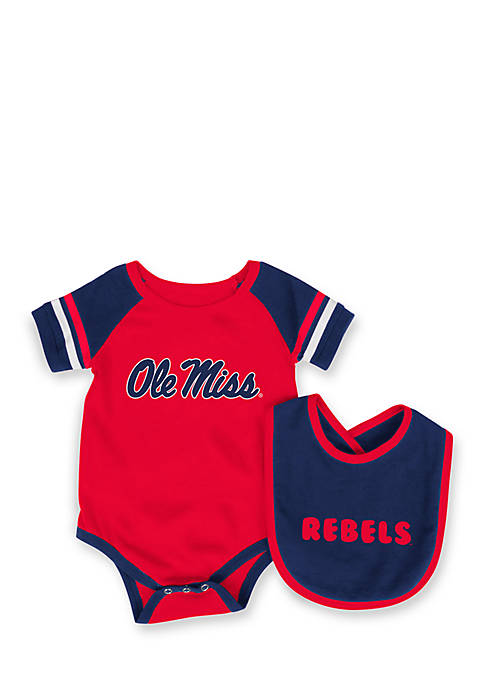 Colosseum Athletics Ole Miss Rebels Bodysuit with Bib