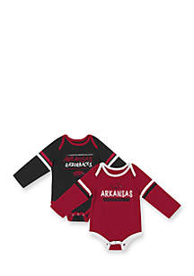 2-Pack Arkansas Razorbacks Bodysuits