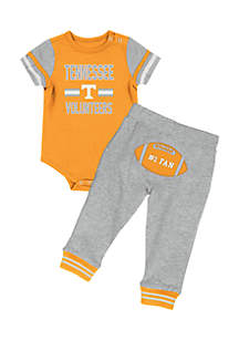 Infant Boy Tennessee Volunteers Long Run Football Pant Set