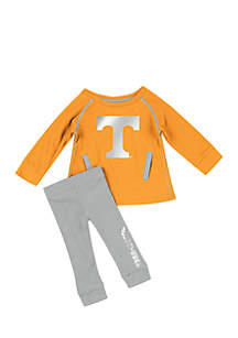 Infant Girls Tennessee Volunteers Nice Kick Tunic Legging Set
